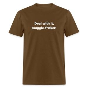 MENS SIMPLE: Muggle-fu*@er - Men's T-Shirt