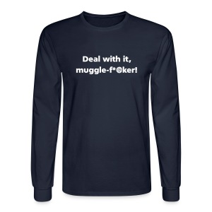 MENS LONG: Muggle-fu*@er - Men's Long Sleeve T-Shirt