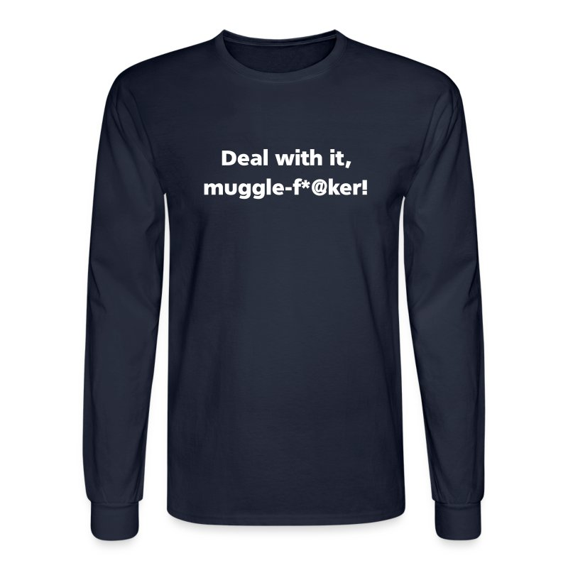 MENS LONG: Muggle-fu*@er - Men's Long Sleeve T-Shirt
