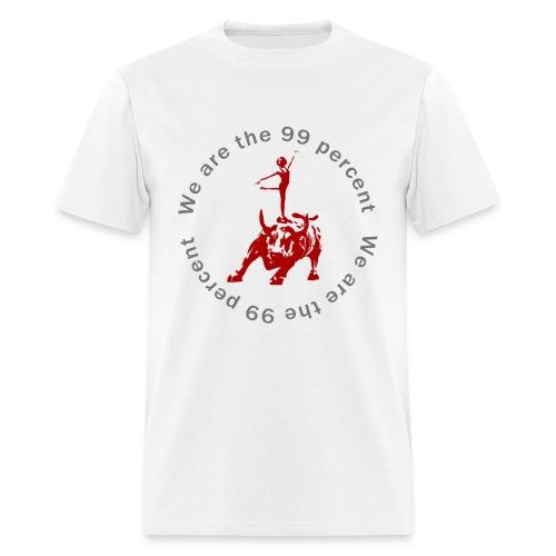 99 percent Bull - Men's T-Shirt