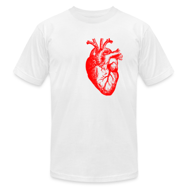 I love / I heart heart anatomy T-Shirts