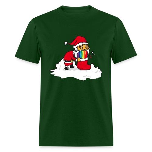 Christmas Cat - Men's T-Shirt