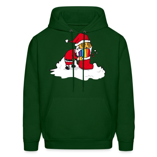 Christmas Cat - Men's Hoodie
