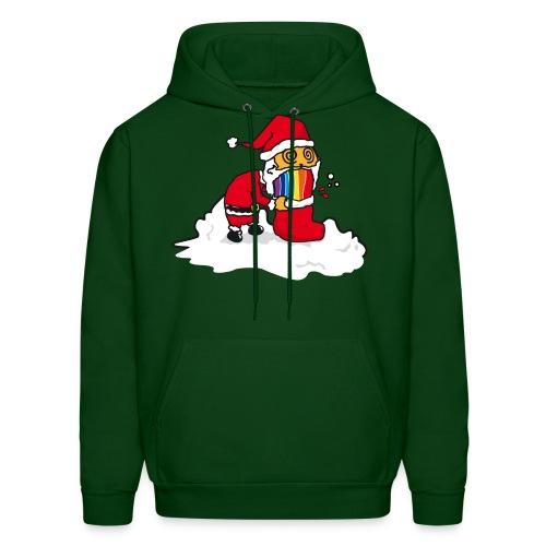 Christmas Cat - Men's Hoodie