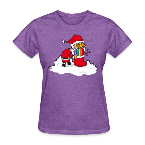 Christmas Cat - Women's T-Shirt