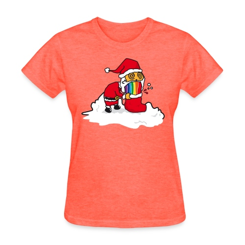 Christmas Cat - Women's T-Shirt