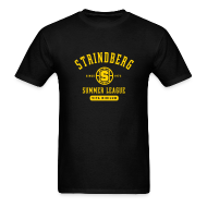 T-Shirts ~ Men's T-Shirt ~ August Strindberg Summer League Shirt