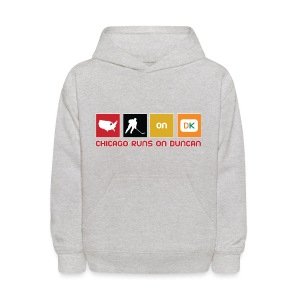 Chicago Runs On Duncan - Kids' Hoodie