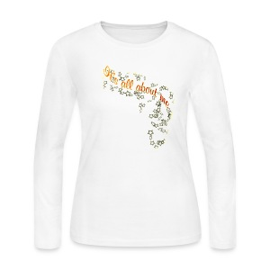 It's All About Me  - Women's Long Sleeve Jersey T-Shirt