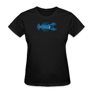 T-Shirts ~ Women's T-Shirt ~ The Blue Lobster (mvyradio)