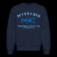 Long Sleeve Shirts ~ Crewneck Sweatshirt ~ mvyradio - distressed