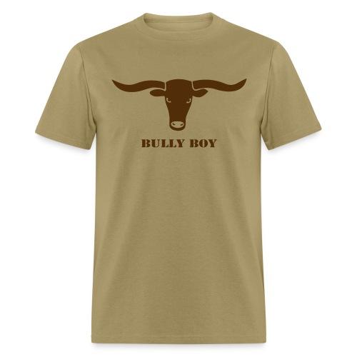 animal t-shirt bull skull ox horn horns bully cow farmer cowboy rodeo hunter texas boy wild west buffalo - Men's T-Shirt