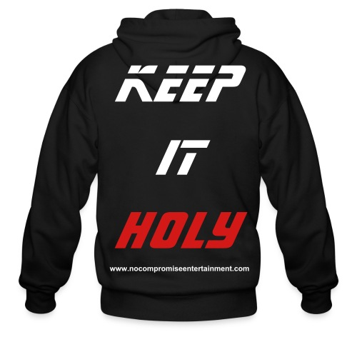 Keep it holy hoody - Men's Zip Hoodie