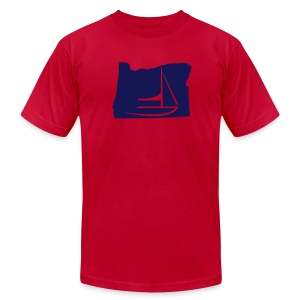 Oregon - Men's T-Shirt by American Apparel
