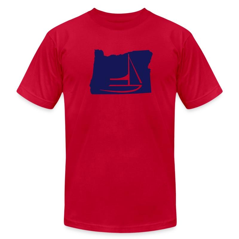Oregon - Men's Fine Jersey T-Shirt