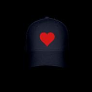 Caps ~ Baseball Cap ~ Nick Pitera Heart Hat