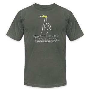 Kentucky Flicker - Unisex - Men's Fine Jersey T-Shirt