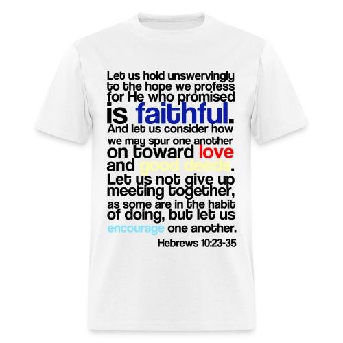 Let us Hold Men's T-shirt - Men's T-Shirt