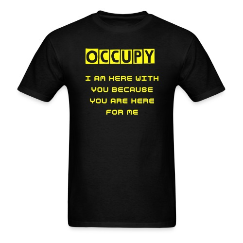 Occupy Together - Men's T-Shirt