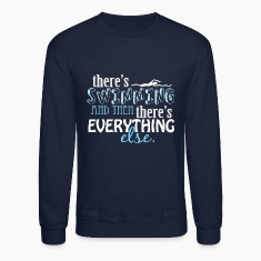 Swimming is Everything Long Sleeve Shirts