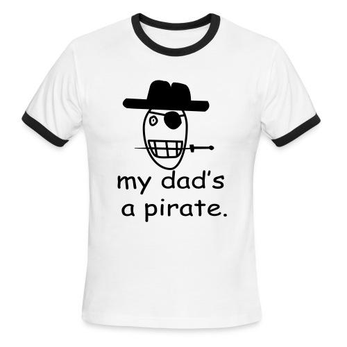 Pirate T-shirt - Men's Ringer T-Shirt