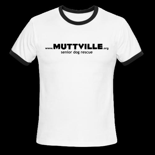 Men's Muttville ringer tee - Men's Ringer T-Shirt
