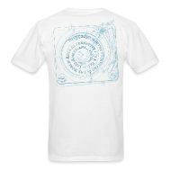 T-Shirts ~ Men's T-Shirt ~ mvyradio Phonograph & Spiral - back