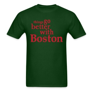 Things Go Better With Boston - Men's T-Shirt