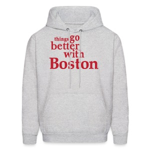 Things Go Better With Boston - Men's Hoodie