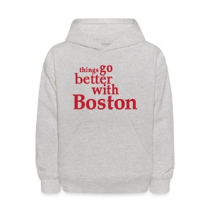 Things Go Better With Boston - Kids' Hoodie