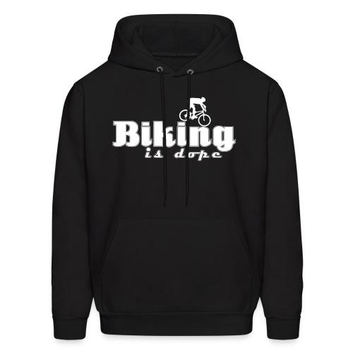 Biking Is Dope - Men's Hoodie