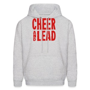 Cheer and Lead Hooded Sweatshirt - Men's Hoodie