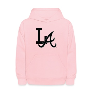 LA Kid's Hooded Sweatshirt (Pink) - Kids' Hoodie