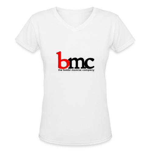Logo V-Neck - Women's V-Neck T-Shirt