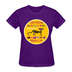 Womens - Australia of Cats - The Earlwood Cat - Women's T-Shirt
