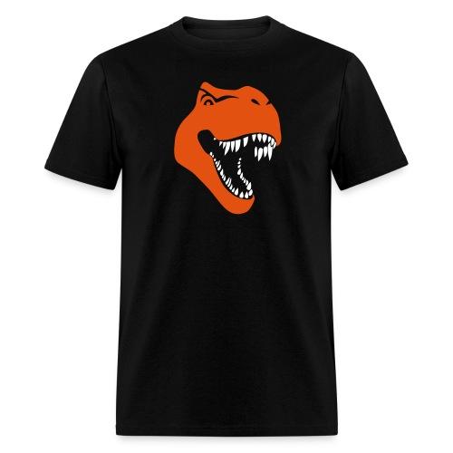 animal t-shirt tyrannosaurus rex t-rex  dino dinosaur jurassic raptor - Men's T-Shirt