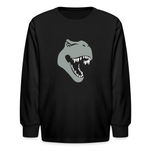 animal t-shirt tyrannosaurus rex t-rex  dino dinosaur jurassic raptor - Kids' Long Sleeve T-Shirt