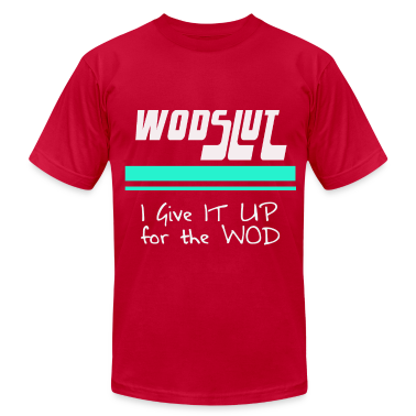 Crossfit WODSLUT shirt