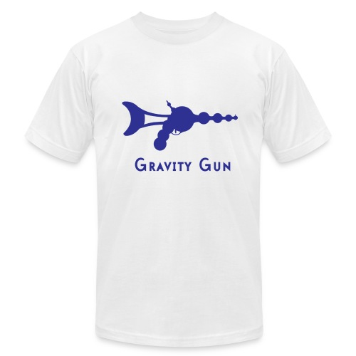 Gravity Gun - Men's Fine Jersey T-Shirt