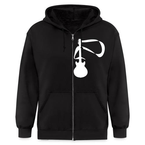 Adam Lovelund Music Men's Hoodie - Men's Zip Hoodie