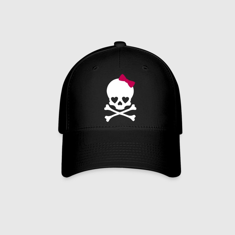 Small Girlie Skull Caps - Baseball Cap