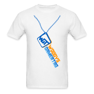 T-Shirts ~ Men's T-Shirt ~ Mens Tee : WGT Bling (blue)
