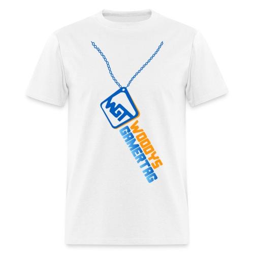 Mens Tee : WGT Bling (blue) - Men's T-Shirt