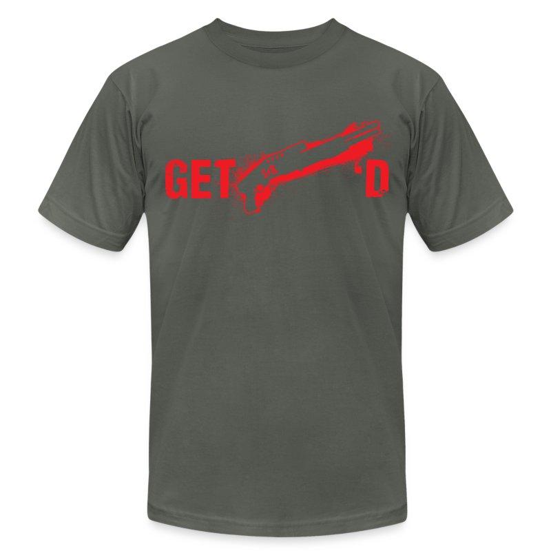Get Spas'd - Men's Fine Jersey T-Shirt