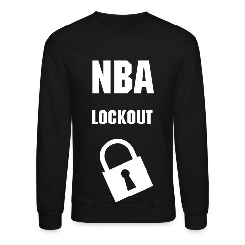 (Mens) NBA Lockout Crewneck Sweater - Crewneck Sweatshirt