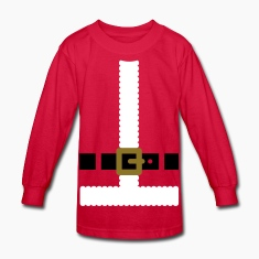 Santa Claus suit Kids' Shirts