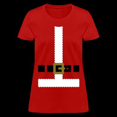 Santa Claus suit Women's T-Shirts