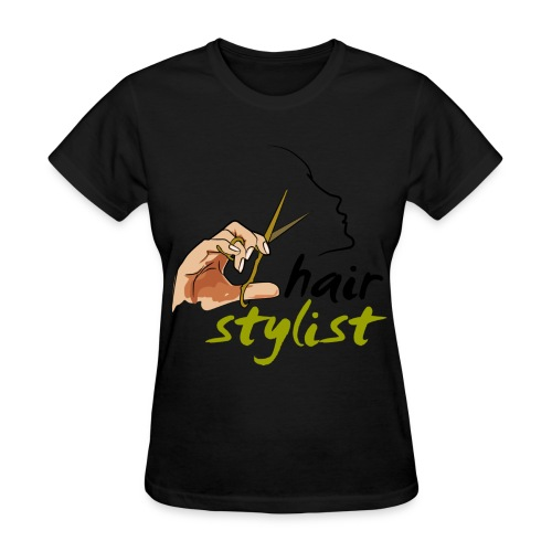 Stylist- Black - Women's T-Shirt