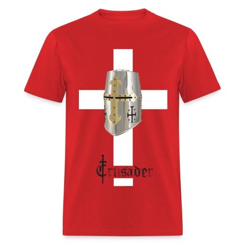 Crusader White on Color Standard T - Men's T-Shirt