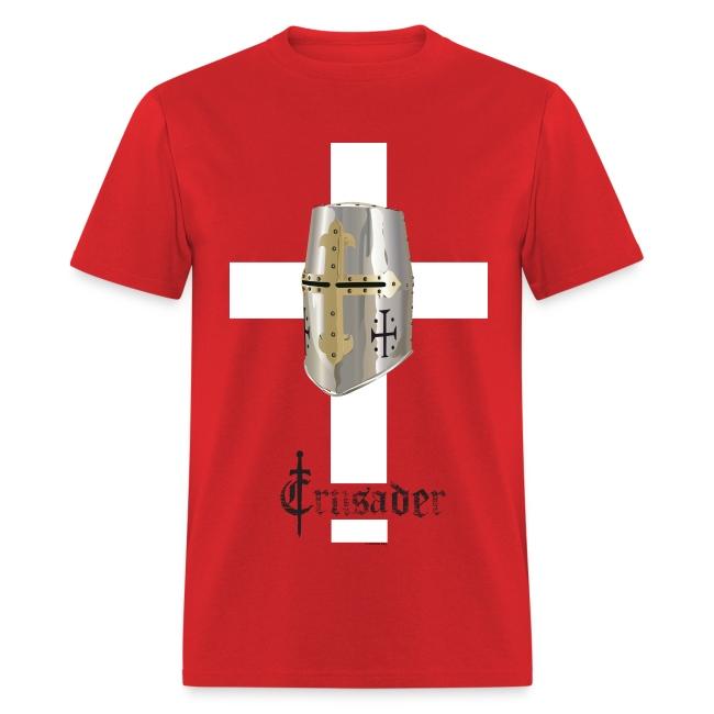 Crusader White on Color Standard T